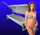 Collagen Double Sunbed for sale